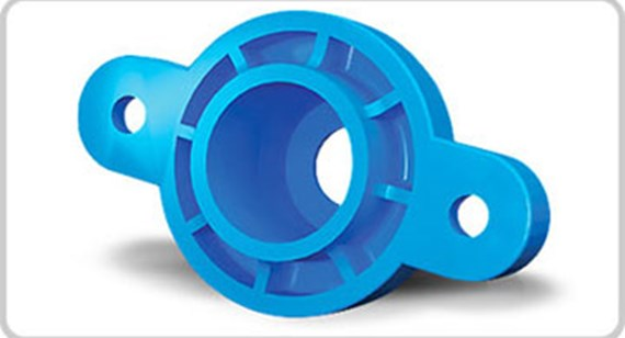 Increase strength of injection-molded parts with glass